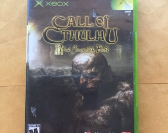 Xbox Call of Cthulhu video game Bethesda