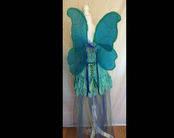Blue Faerie wings