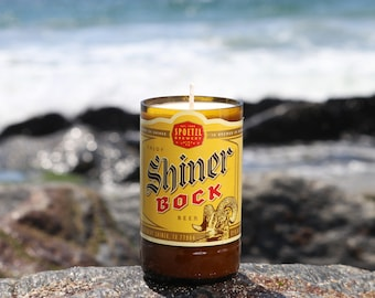 Shiner Bock Soy Wax Candle