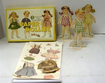Paper Dollies Designed by Sliced Bread for moda Home