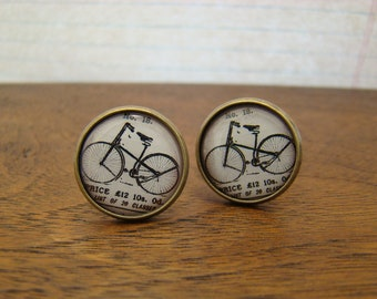 Bicycle Cuff Links - Style No. 706