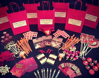 Hen party pre filled gift bags - Personalised - Create your own - Choose 5 items fillers