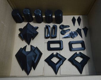 Nevermore Reaper Belt, Chest and Sash Accessories, Overwatch Costume Cosplay
