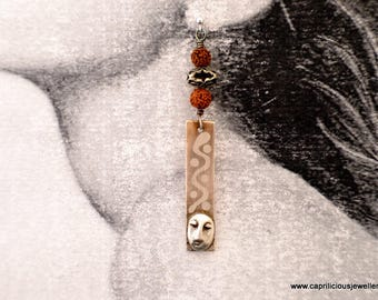 Silver earrings, Fine Jewellery, Statement Jewellery, Bohemian, UK, gift for her, heirloom jewellery, contemporary jewellery, Handmade, OOAK