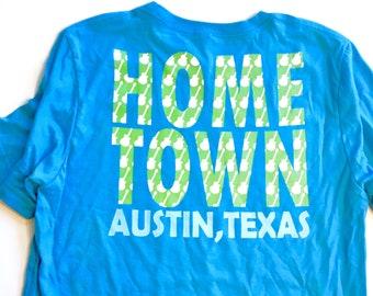 Green Guitar Hometown ATX