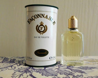Faconnable for men by Faconnable.  Eau de toilette miniature bottle 4.5 ml / 0.15 fl. oz.