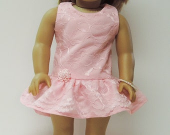 18 inch dolls Easter, Valentine's Day, party dress