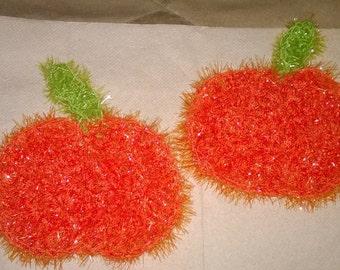Dish Scrubbies Pumpkin Scrubby
