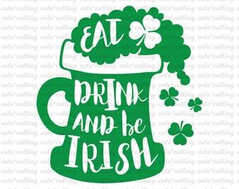 St Patricks day svg, St Patricks svg, Clover svg, Shamrock svg, beer svg dxf, jpeg, cuttable cutting files for Silhouette Cameo, Cricut