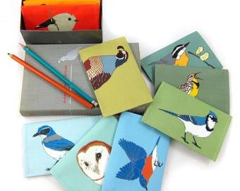 3-Pack of Canvas Bird + Wildlife Wallets | FREE US Shipping | 32 Designs | birder nature outdoors vegan pouch coin purse bird vs bird