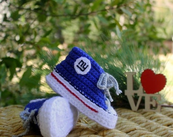 Baby Shoes, New York GIANTS Baby Shoes, NY Giants Baby