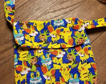 Pokemon mini messenger bag