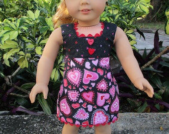 Be My Valentine fits American Girl Doll and 18 inch dolls