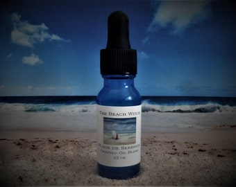 PLAGE de SERENITE' ( Serenity Beach) Crafted Ritual Oil, Body Oil, Bath Oil, Fragrance Oil, Massage Oil, Anointing Oil, Perfume Oil ~ 1/2 oz