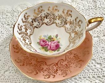Stunning Royal Standard Tea Cup & Saucer