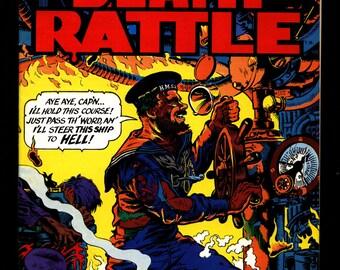 DEATH RATTLE #3 Jack Jackson Jaxon Steve Stiles Doug Hansen Fantasy Horror Psychedelic Underground Anthology Comic