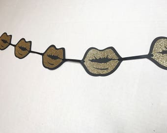 Golden Lips Banner