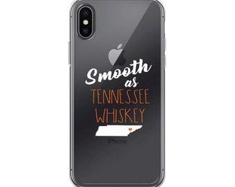 Smooth as Tennessee whiskey iPhone Case cell phone volunteers