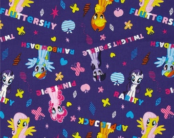 My Little Pony Ponies and Names From Springs Creative