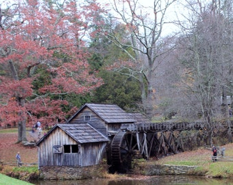 "From the ""Appalachian Scenic"" Series.  Mabry Mill on Blue Ridge Parkway"