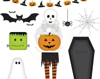 Halloween Clipart,Halloween Elements,Halloween digital,digital download