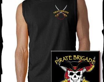 Pirate Brigade Men's T-shirts
