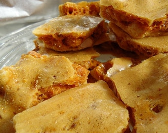 Peanut Brittle SAMPLE 4oz - Ken's Airy Crunch Homemade Brittle Candy Bag