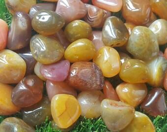 Carnelian Crystal Tumblestone, Carnelian Crystal, Carnelian Stone