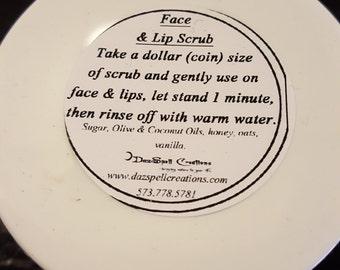 Face & Lip Scrub