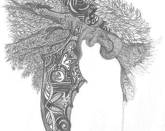 Sleeping Dragon (Englarged)