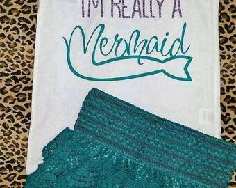 Mermaid Short Set