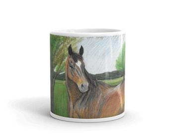 Bay Mare Mug