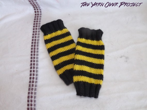 Pattern Knit Pattern For Bumblebee Baby Legwarmers Knit