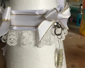 Opal Aura Quartz Collar