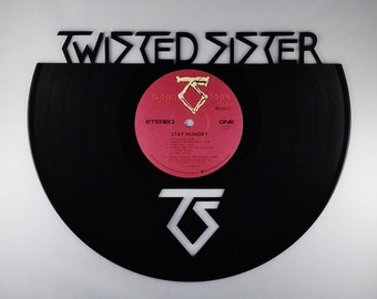 TWISTED SISTER Vinyl Record Wall Art