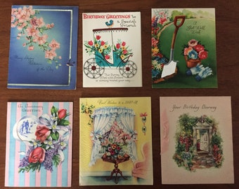 Vintage Greeting cards Unsigned