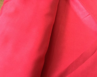 Red lining fabric priced per meter