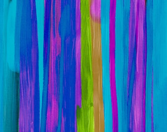 Homage of Blue - M. Pier - EMPIRE  Limited Edition Artist Signed Giclee on Canvas