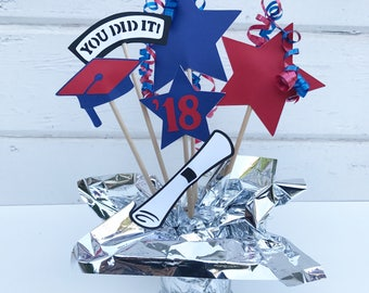 Graduation Party Decor - Graduation Party Ideas - Graduaion Centerpiece Sticks - Graduation Party Centerpieces - College Graduation