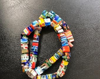 Handmade multicolor bead bracelet