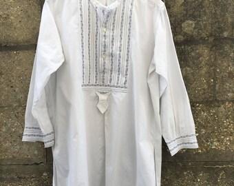 Vintage French dress shirt