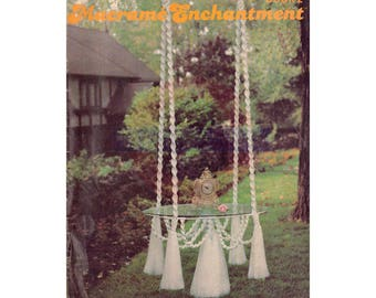 Macramé Enchantment Book 2 1978 - 21 Vintage Macrame Patterns Instant Download PDF 31 pages