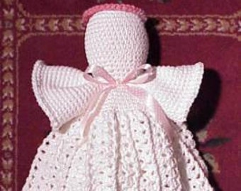 Angel Bagholder CROCHET PATTERN Plastic Bag Holder Kitchen