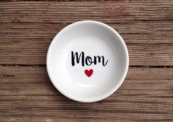 Jewelry Dish | Mom | Mother's Day | Ring Dish | Mother of the Bride