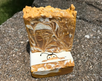 Sea Shore Cold Process Soap with Pure Bees Wax