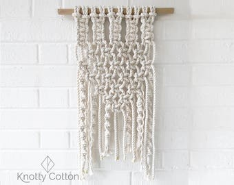 Macrame Kit Macrame How To Kit DIY Macrame Craft Kit Macrame Wall Hanging Kit Macrame DIY Macrame Wall Hanging Macrame Art Kit Make Macrame