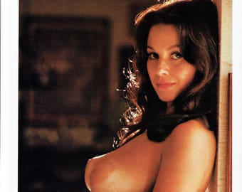 MATURE - Vintage Lana Wood Page From 1984 Playboy's Women Of Television Publication Peyton Place Capitol Nudity Celebrity Wall Art Decor