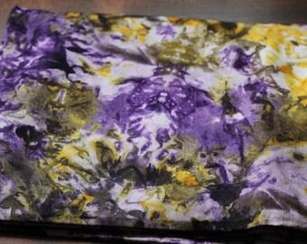 Beautiful Handmade Fair Trade African Batik Tye-Dye 2 yards