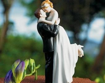 Figurine de mariage romance