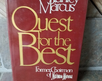 1979 Quest for the Best Neiman Marcus Stanley Marcus 4th Printing 1979